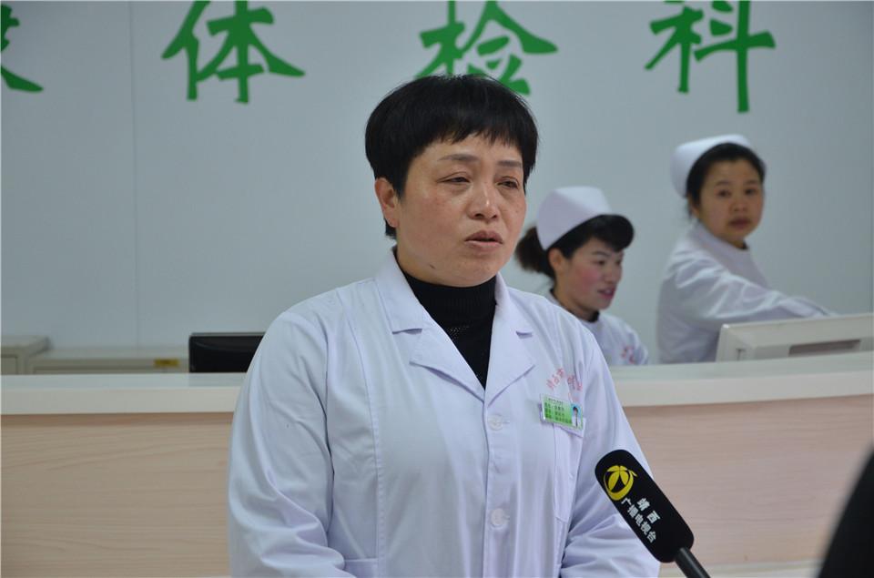 吴惠萍副院长接受采访
